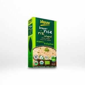 VAPZA ORGANIC BROWN RICE