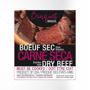 BANQUET BRAZIL DRIED MEAT